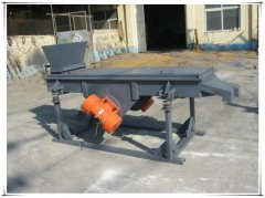 DZSF-520-1P Hopper_one deck_Linear vibrating sieving machine