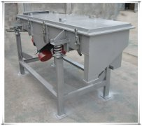 DZSF-525 single deck granular linear vibratory sieve