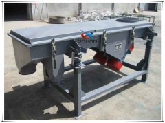 DZSF-525 two decks linear vibratory grading sieve