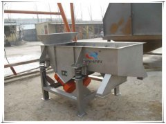 DZSF-512 hopper Rectangular vibration sieving machine