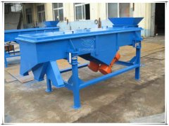 DZSF-1025 two decks linear classifier vibrating sieve