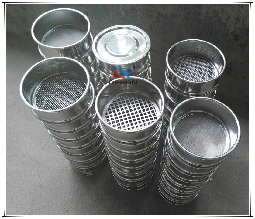 100mm Stainless steel sieve set